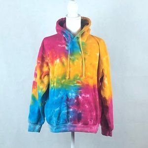 Colortone Neon Tyed Dyed Hoodie